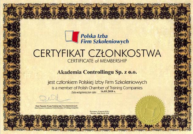 certyfikat pifs