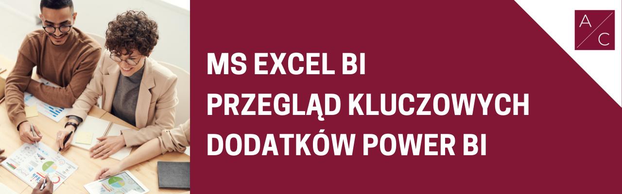 Szkolenie z MS Excel BI
